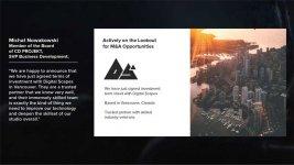 CD Projekt Acquires Digital Scapes